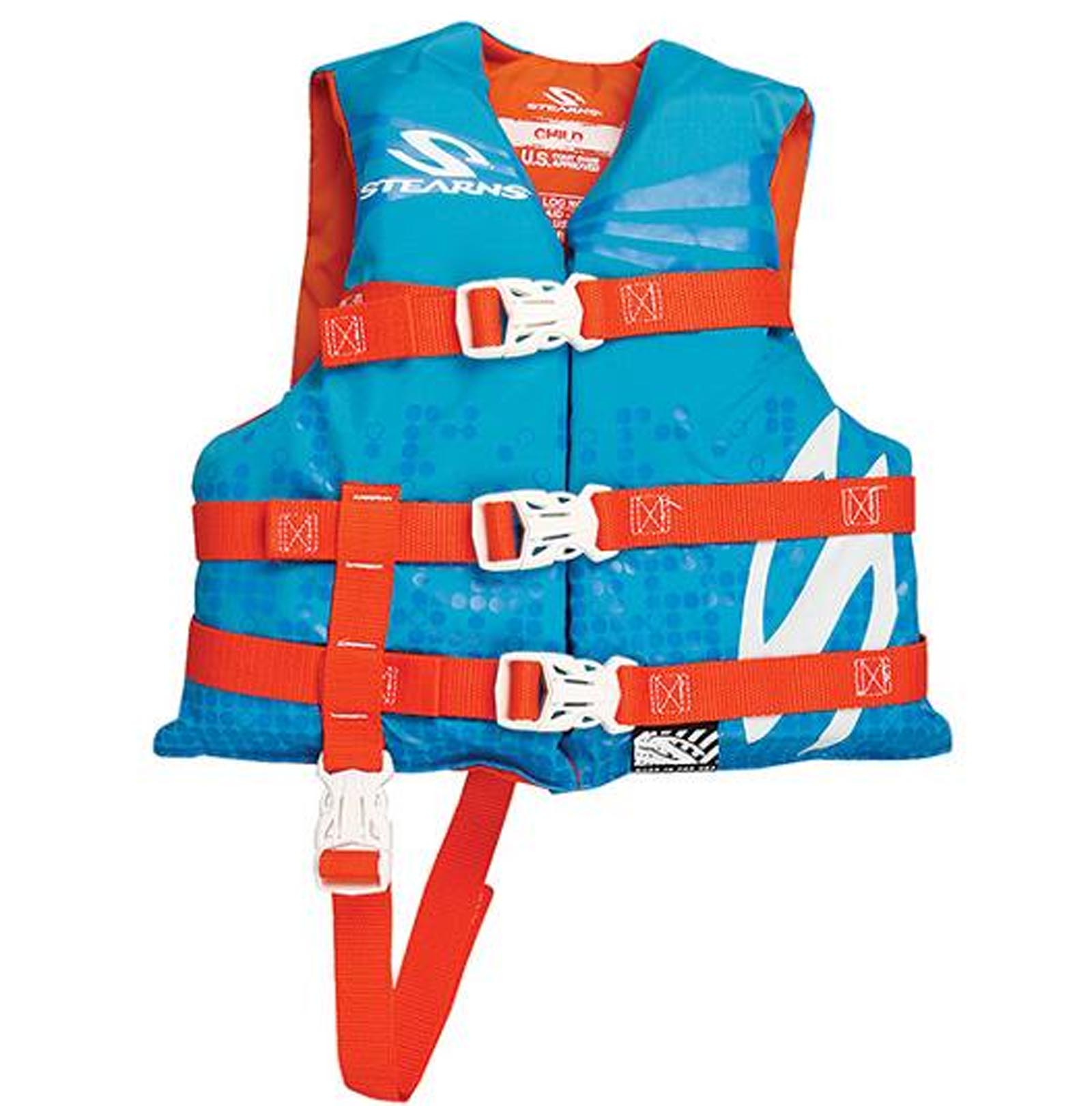 COLEMAN Stearns Classic Series Child Kid's Life Jacket Flotation Vest 30-50Lbs by