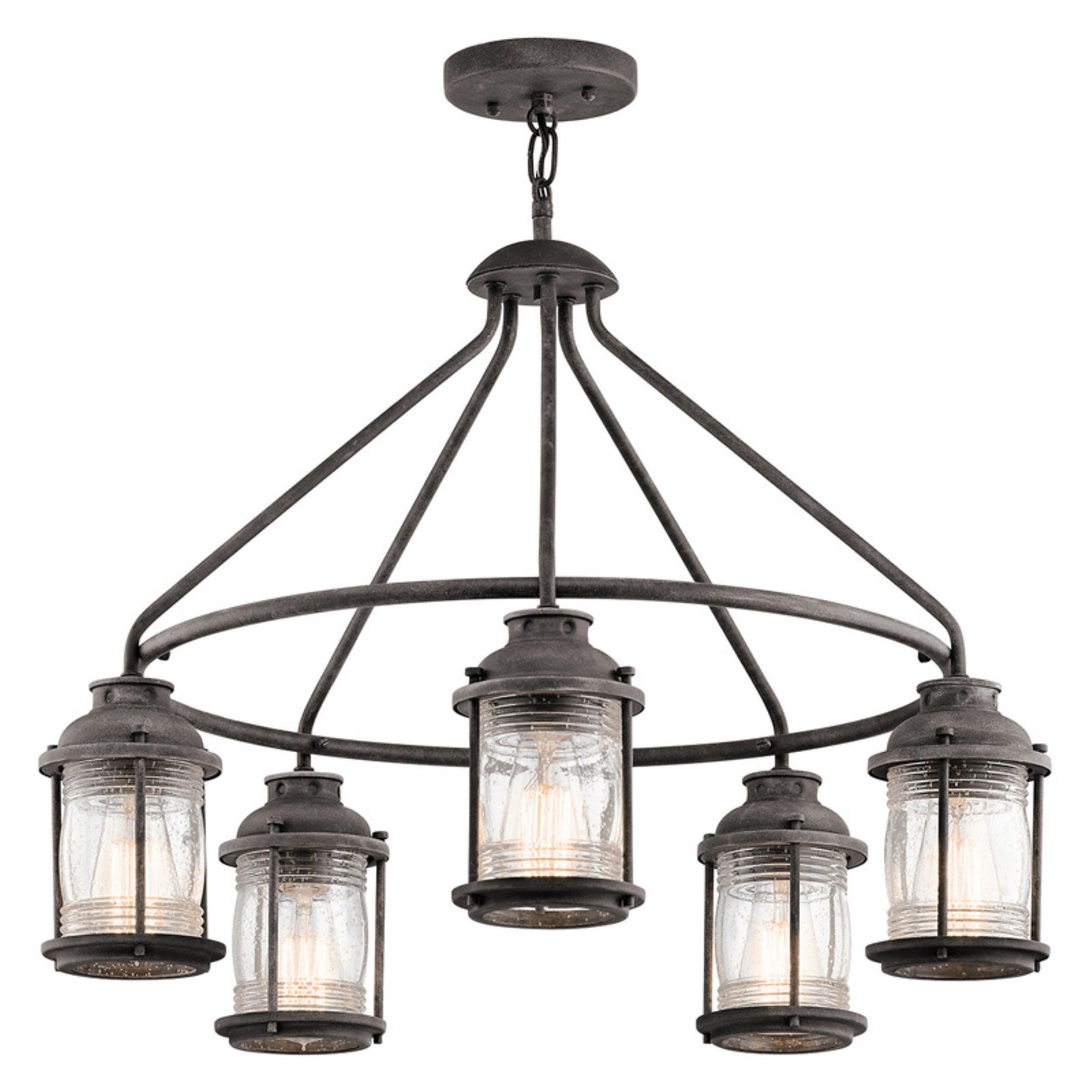 Kichler Ashland Bay 49667WZC Outdoor Chandelier