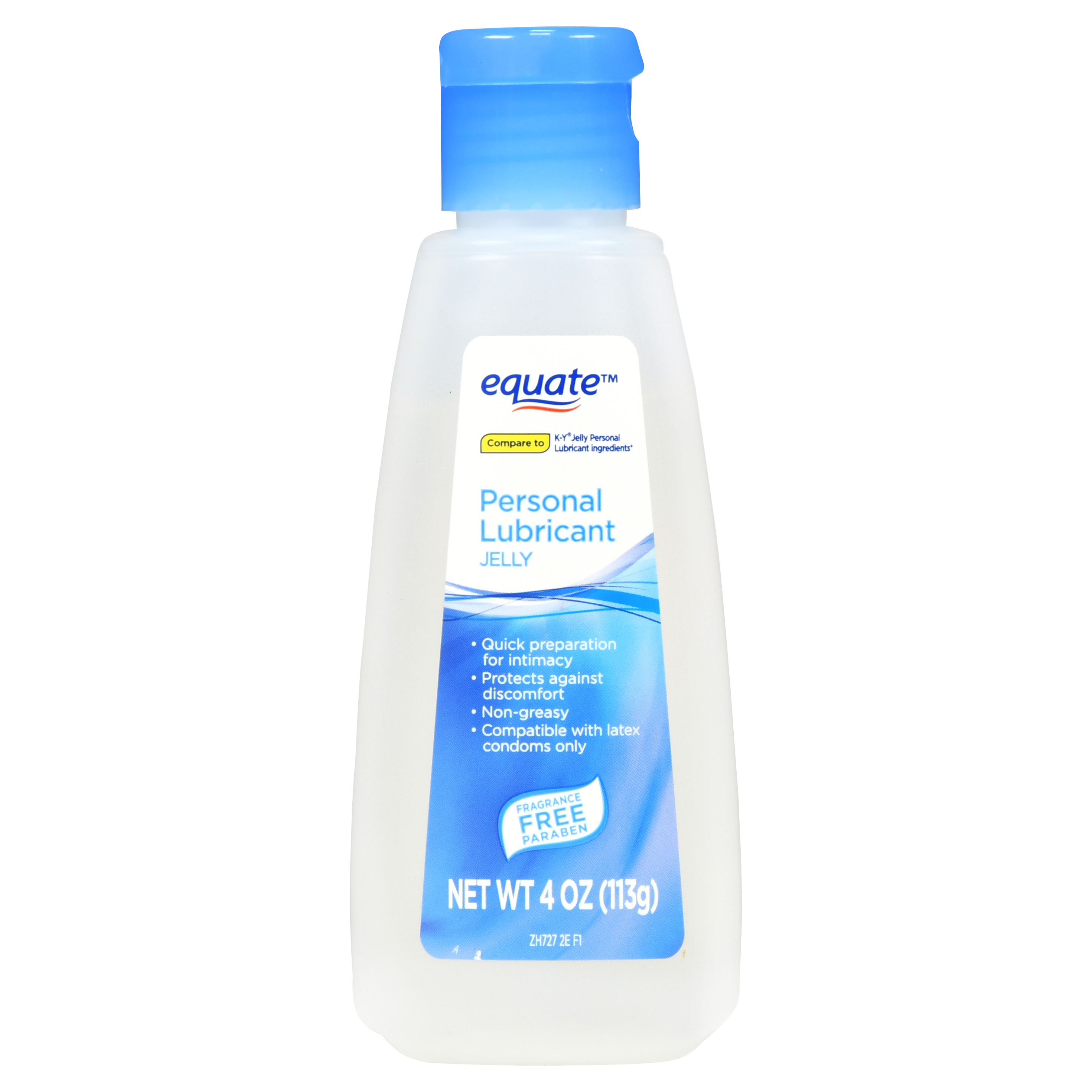 Equate Personal Lubricant Jelly, 4 Oz