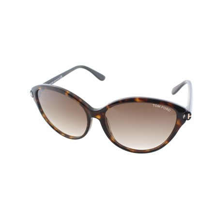 3c18588b5a  159.94 - Tom Ford TF342 56F Women s Cat-Eye Sunglasses - Walmart.com