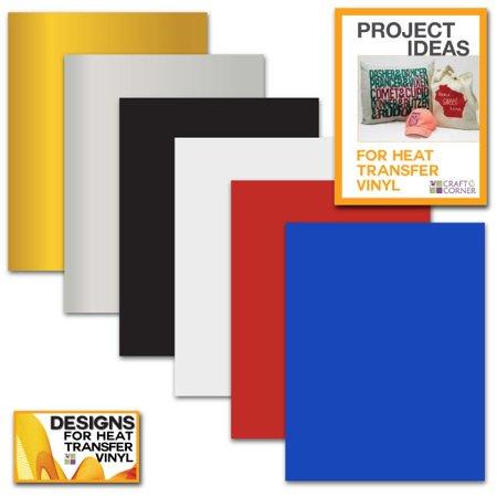 Siser EasyWeed Heat Transfer Vinyl Sheets (6 Pack) 12