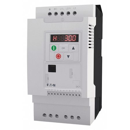 EATON Variable Frequency Drive,1.5HP,200-240V DC1-S2011NB-A20CE1