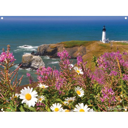 Yaquina Head Lighthouse, Newport, Oregon Photo Metal Art Print by Steve Terrill (9