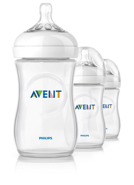Philips Avent SCF693 37 NATURAL 9oz, 3pk Bottle by Philips AVENT