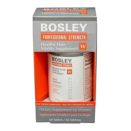 Bosley Healthy Hair Vitality Supplements For