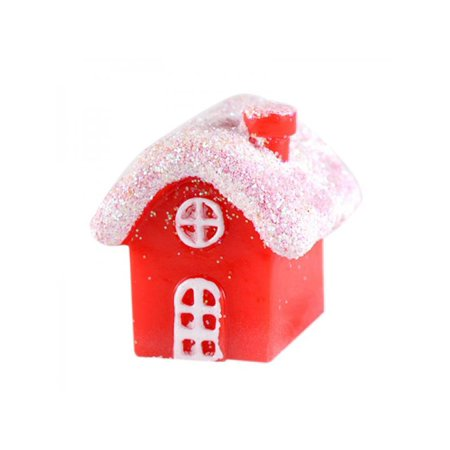 Taykoo Cute Small Snow House Christmas Decoration Craft Gift ()