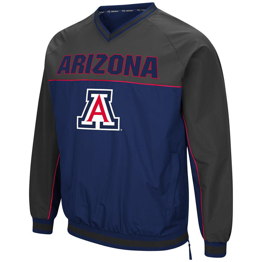 Mens Arizona Wildcats Windbreaker Jacket L by Colosseum