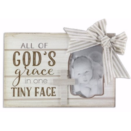 Tiny Dog Ribbon (Frame-All Of God s Grace In One Tiny Face w/Cross & Ribbon (Holds 4 x 6 Photo))