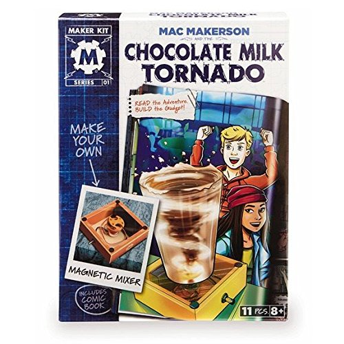 Mac Makerson and the Chocolate Milk Tornado Science Toy, ...