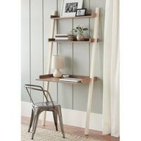 """Better Homes & Gardens 71"""" Bedford Leaning Desk, Multiple Colors"""