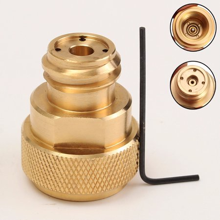 C02 Conversion Sellution SodaStream CO2 For Tank Paintball Canister Refill Adapter Gold Brass