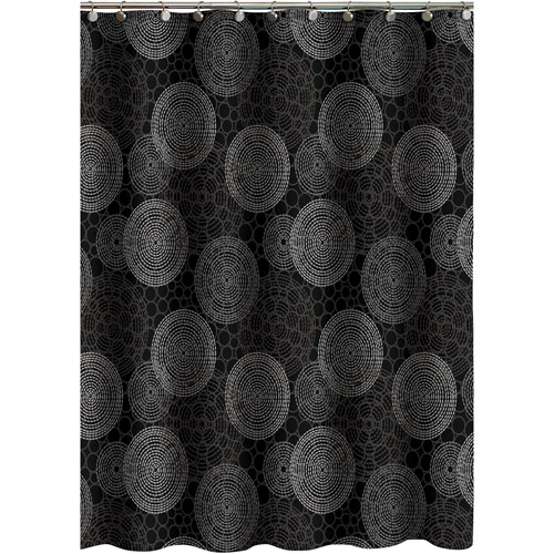Hometrends Circles Shower Curtain