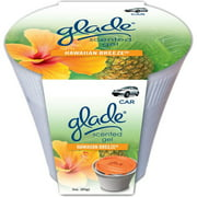 Glade 3-oz Gel Automotive Air Freshener, Hawaiian Breeze