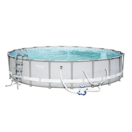 20 Inch Helmet Pool - Bestway - Power Steel 20 Feet x 48 Inches Pool Set
