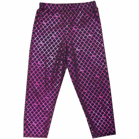 Purple Monster High Creeperific Leggings Child Halloween Costume