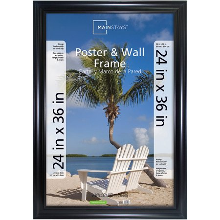 Black Wall Frame - Mainstays 24