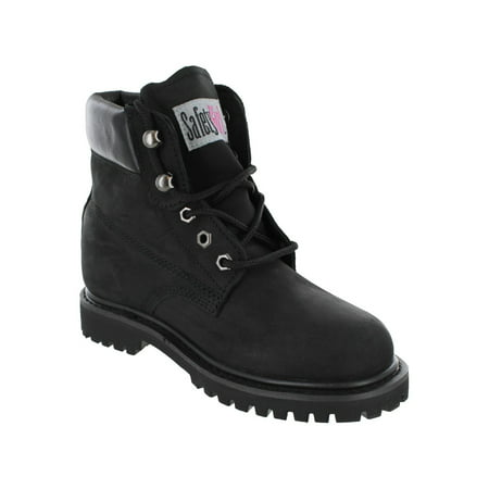 6cb7f16b4bca Safety Girl - Safety Girl II Steel Toe Waterproof Women's Work Boots - Black  - 10.5M - Walmart.com