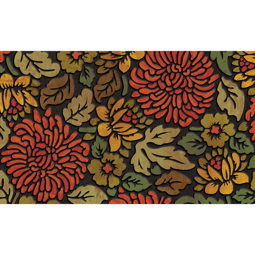 Masterpiece November Bloom Doormat