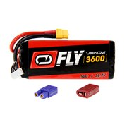 Venom Fly 50C 6S 3600mAh 22.2V LiPO Battery with Universal 2.0 Plug