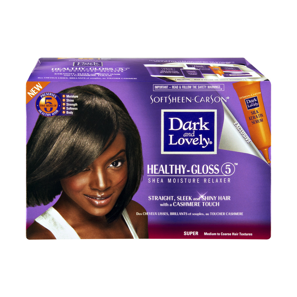 SoftSheen Carson Dark and Lovely Healthy-Gloss 5 Shea Moisture Relaxer, 1.0 CT