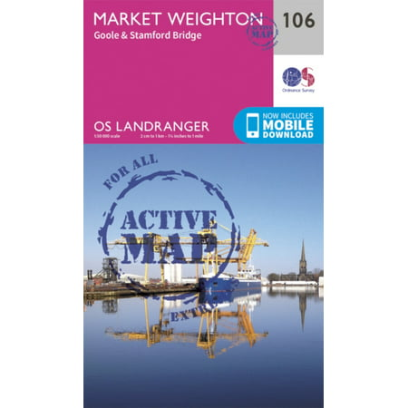 Landranger Active (106) Market Weighton, Goole & Stamford Bridge (OS Landranger Active Map) (Map) Chelsea Stamford Bridge