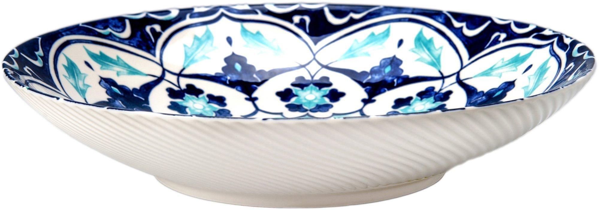 BIA Cordon Bleu Inc Isabel Pasta Bowl One Size Blue//white