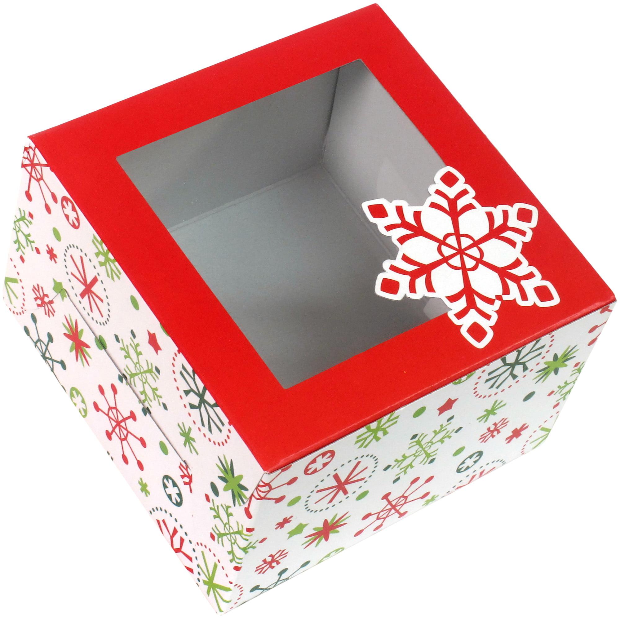 Holiday Time 3pk Sm Flake Box