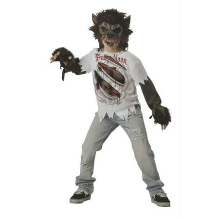 Costumes For All Occasions Ic17015Lg Werewolf Child Size 10 (Kids Warewolf Costume)