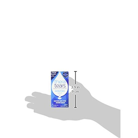Paquet de 2 TheraTears lentilles de contact Confort gouttes stérile 0,5 Oz Chaque