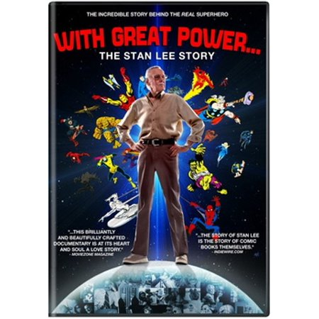 With Great Power: The Stan Lee Story (DVD) - Stan The Man