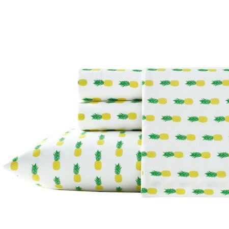 Poppies Thread - Poppy & Fritz Pineapples Sheet Set, Twin XL