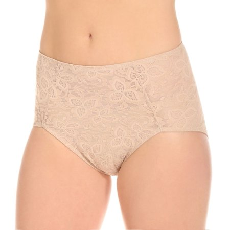 6a8bc506a06 Bali - Women s Bali 8L14 Lace  N  Smooth Shaping Brief Panty - Walmart.com