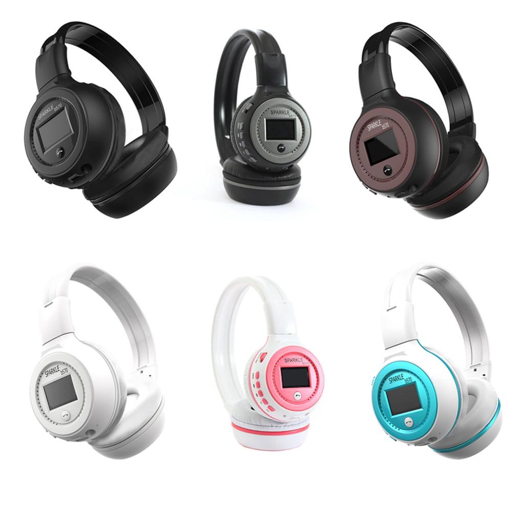 HiFi Stereo Bluetooth Headphone Wireless Headset Microphone Support FM Radio Earphone Micro-SD Card for ZEALOT B570