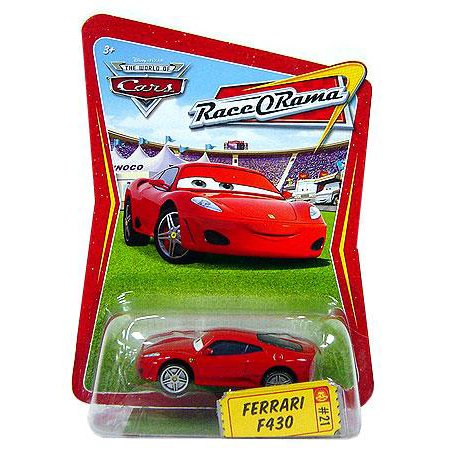 Disney Cars Race-O-Rama Ferrari F430 Diecast Car