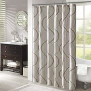 Home Essence Fenice Embroidered Ogee Shower Curtain