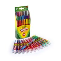 (2 Pack) Crayola Mini Twistables Crayon Set, 24 Count
