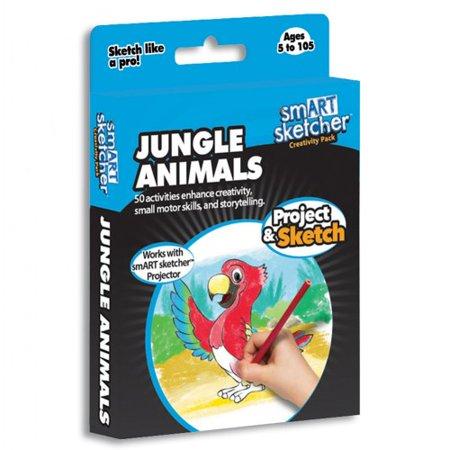 smART Sketcher Jungle Animals Creativity - Smart Toys And Books
