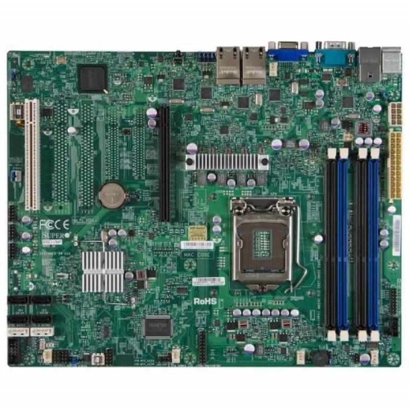 Super Micro X9SCI-LN4-O LGA1155/ Intel C204 PCH/ DDR3/ SATA3/ V&4GbE/ ATX Server Motherboard