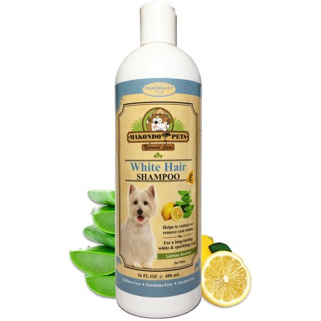 - Dog Whitening Shampoo for Dogs with White / Light Colored Hair / Coat / Fur. White Haired Pets Shampoo For Itching / Dry / Sensitive Skin. Biodegradable / Non Toxic / Vet Best Formula
