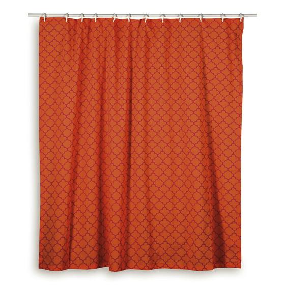Wildon Home Charleena Cotton Shower Curtain