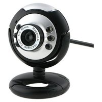 Fosmon 21001WEB 12.0 Megapixel 6 LED USB PC Webcam Camera with Night Vision For Desktop Skype Computer PC Laptop