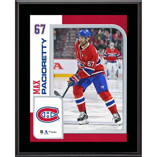 "Max Pacioretty Montreal Canadiens 10.5"" x 13"" Sublimated Player Plaque - No Size"