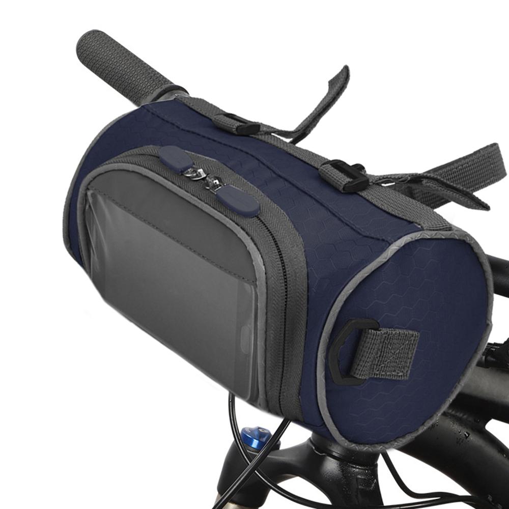 Urbane 3L Front Bike Bicycle Waterproof Front Handlebar Bag Luggage Reflective