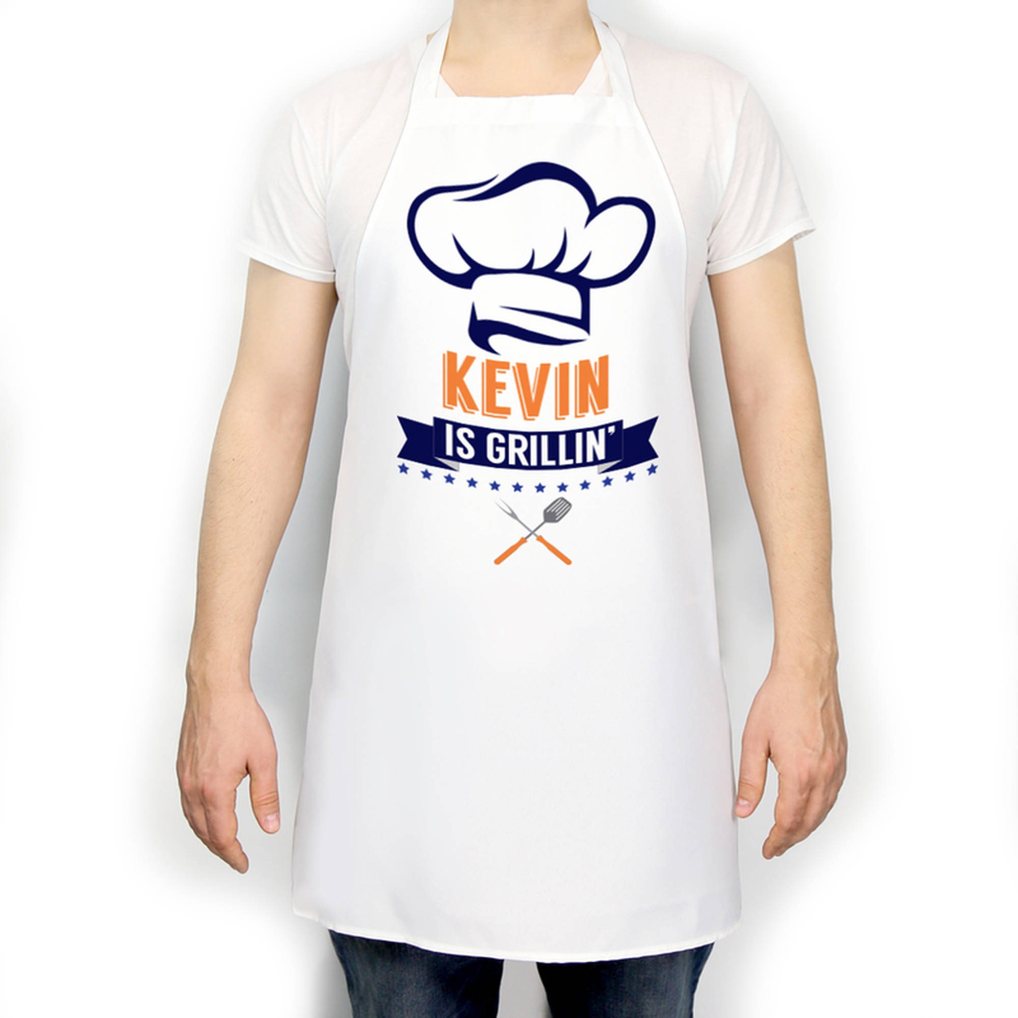 Daddy Is Grilling Personalized Apron