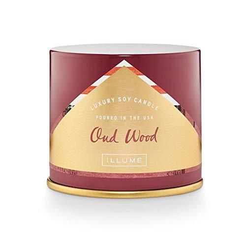 ILLUME Oud Wood Vanity Tin 1 EA