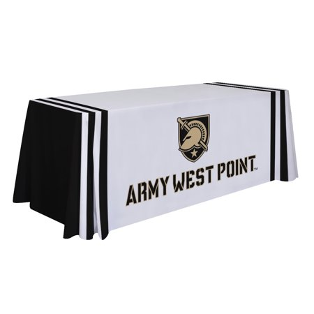Army Black Knights 6' Wordmark Table Throw - No Size](Knights In Black Satin)