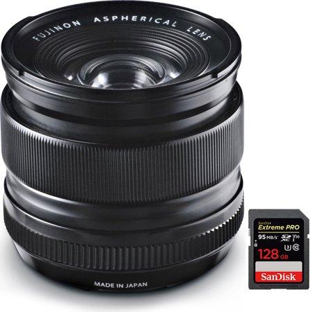 Fujifilm Fujinon XF 14mm (21mm) F2.8 R X-Mount Lens + 128GB Memory