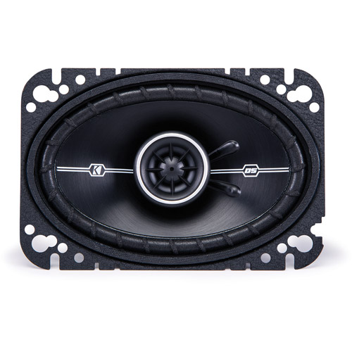 "Kicker DSC46 4"" x 6"" 4-Ohm Coaxial Speakers with 1/2"" Tweeters"