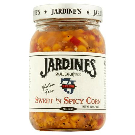 Spicy Corn Relish - (2 Pack) Jardine's Medium Sweet 'n Spicy Corn Relish 16 oz