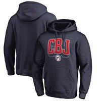 Columbus Blue Jackets Fanatics Branded Hometown Collection Pullover Hoodie - Navy